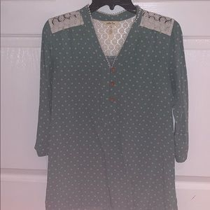 Matilda Jane 3/4 blouse size small